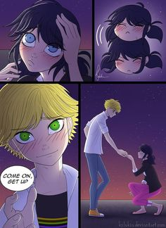 Chat Noir needs to know what is Ladybug's true identity now, but what will she think? First Next Previous ~~~~~~~~~~~~ Spanish ver. ~~~~~~~~~~~~ And If I do some mistakes with the spelling please l...