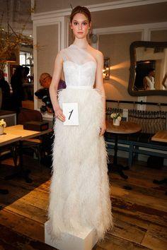 Pin for Later: 75 Robes de Mariées Qui Seront Partout Cette Saison Lela Rose Bridal Printemps/Été 2016