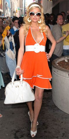 Paris Hilton's 30 Most Memorable Looks - July 2006 from #InStyle