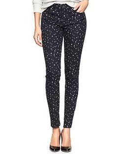 1969 dot legging skimmer jeans | Gap