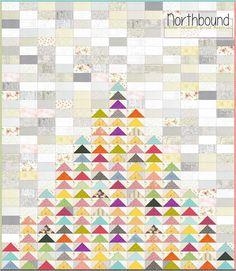 Piece N Quilt: Northbound - A Low-Volume Quilt Tutorial