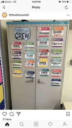 Classroom job ideas for upper elementary grades. These jobs keep students engaged in the running of the classroom.
