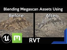 Unreal Engine 4: Blend Megascan Assets with the Landscape Using Runtime Virtual Texturing (RVT) - YouTube