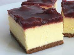 Sernik z frużeliną wiśniową Polish Recipes, Polish Food, Cake Cookies, Cheesecakes, Food Hacks, Delicious Desserts, Cake Recipes, Sweet Tooth, Good Food