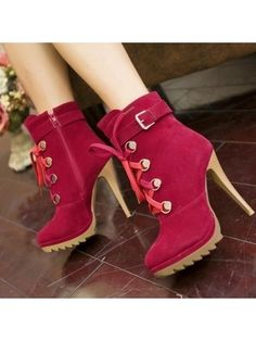 Designed Casual Ankle-boot | fashionmia.com