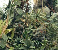LRRP Diorama Vietnam