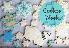 Cookie Week 2012 is Here: Decorated Shortbread with a Twist! {And a Sweet Giveaway}
