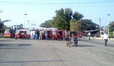 Un bloqueo más en Juchitán.