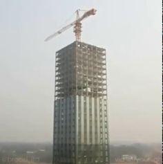 """maloql: """"Edificio de 30 pisos construido en 15 días """""""