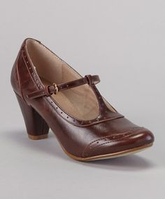 Take a look at this Oxbrown Molly Shoe by Chelsea Crew on #zulily today!