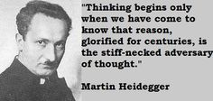 martin heidegger the thing essay