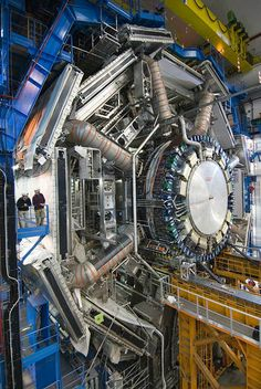 Would love to visit and talk nerd to you all day while you pretend to listen and take photos. Large Hadron Collider in the CERN Center, Geneve - Particle Collider, Elementary Particle, Particle Accelerator, Large Hadron Collider, Higgs Boson, E Mc2, Weird Science, Quantum Mechanics, Quantum Physics