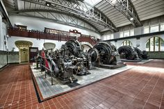 Old hydroelectric power station in Germany - Sven Salz  #Industrial #HDR