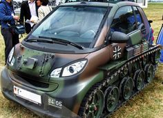 tank smart car