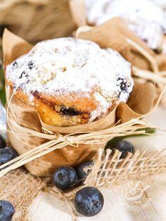 Muffins ai mirtilli - Dessert / Dolcetti e crêpes #muffin #muffinaimirtilli #dessert