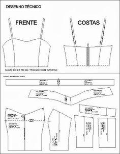 MM Moda,Estilo e Modelagem...: MOLDE GRÁTIS TOP CROPPED
