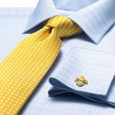 White & sky bold check slim fit shirt | Slim fit dress shirts from Charles Tyrwhitt | CTShirts.com