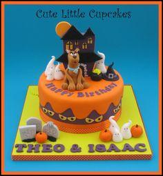 Scooby Doo Halloween themed birthday cake x