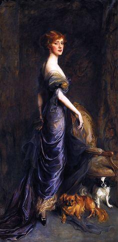 Mrs George Sandys, née Dulcie Redford Philip Alexius de László