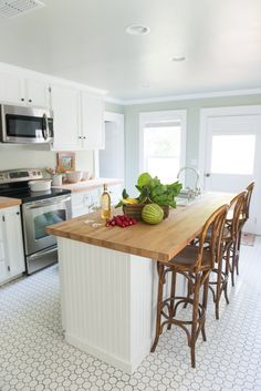 Kitchen at Sugarlumps Guesthouse via Holly Mathis