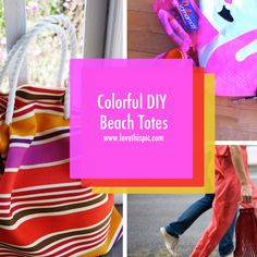 Felt fabric do it yourself crafts crafts felt crafts and blog colorful diy beach totes beach diy accessories do it yourself how to diy bags diy accessories solutioingenieria Image collections
