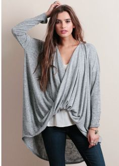 WHITE Late Last Night High-Low Blouse Top Oversize Slouchy Boho Bohemian SMALL #urbanpeopleclothing #Tunic #Casual