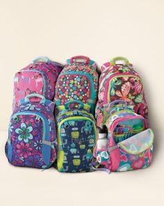 Abigails new backpack, we L O V E it!! Also have matching lunch box, both in Groovy Floral. Garnet Hill Backpack Jr. Starting Kindergarten, School Accessories, Floral Backpack, Painted Pony, Cool Backpacks, Happy Kids, Monogram Canvas, Vera Bradley Backpack, Fashion Backpack