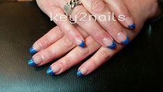 Kobalt blauw acryl
