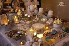 ميز المهر Iraqi wedding table,  Iraqi tradition