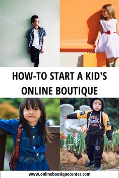 Learn the best strategies for starting an online boutique for babies, infants, kids and pre-teens. This top-rated how-to guide is the best way to start a fashionable and trendy storor children. Baby Boutique Online, Starting An Online Boutique, Kids Boutique, Price Strategy, Preteen Fashion, Online Boutiques, Kids Outfits, Product Launch, Plus Size