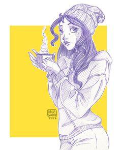 Coffee by chuunin7.deviantart.com on @DeviantArt