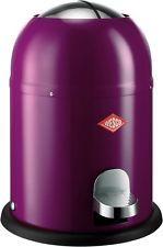 . . . LILA . . . Purple . . . Wesco Single Master Mülleimer Badezimmer Mülleimer NEU