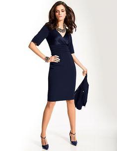 Elegantes Kleid mit kurzen Ärmeln | MADELEINE Mode