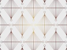 Abstract gradient vector pattern with geometric shapes. Thin lines in warm tone colors forming diamond shapes and small circles in all four corners of each diamond shape. Free vector gradient pattern for all retro, vintage, wallpaper, background, poster, flyer, brochure, geometry or geometric designs. Vintage Pattern Vector by Eps-Ai.blogspot.com 0