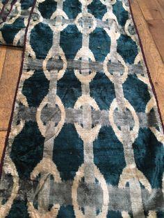 velvet ikat silk fine silk ikat ikat velvet fabric,handmade silk ikat,ikat velvet,uzbeki Fabric handloom ikat velvet ikat by the yard
