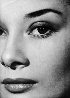 Audrey Hepburn, photographed by Angus McBean (1951)
