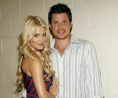 Jessica Simpson Engagement Ring From Nick Lachey 47 Celebrity List, Celebrity Couples, Nick Lachey, Jessica Ann, Happily Ever After, In Hollywood, Fairy Tales, Beautiful People
