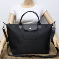 New Authentic Longchamp Neo Medium Duffel Bag Without Tags