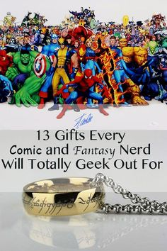 Looking for one gift to rule them all, something that will cast the perfect spell for the comic and fantasy geek in your life? Look no further. From a galaxy far, far away to the intrigue of Westeros, there's something for everyone to nerd out over. Check out these thirteen gifts every fan will love.