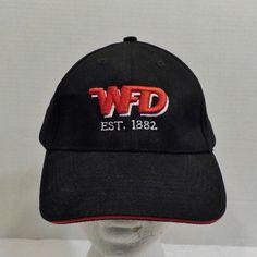 Winnipeg Fire Department EST 1882 We Hold Thee Safe Baseball Hat Cap Strapback #WFD #BaseballCap