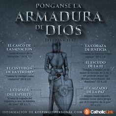 Biblioteca de Catholic-Link - Infografía: Pónganse la armadura de Dios San Pablo