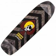 "Birdhouse Tony Hawk McSqueeb Custom Pool Shape Skateboard Deck 9.0"""