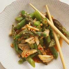 This cooling vegetable turns down your inner heat. Here, we pair it with crab for a light, summery salad.