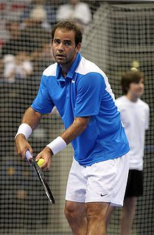 One of the greatest tennis players of all time Pistol Pete Sampras.