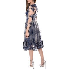 30 in sale. fabulous dress. not in my size Buy True Decadence Sheer Lace Dress, Nude Navy Online at johnlewis.com