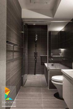 افكار و تصميمات حمامات مودرن صغيرة و بسيطة