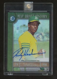Search for Bowman Draft - MLB Draft History - Gold Refractor. Search for Bowman Draft. Rickey Henderson, Trading Cards, Mlb, Chrome, Auction, Baseball Cards, Collector Cards