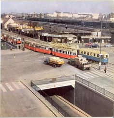 Wien in den Matzleinsdorfer Platz Scenery Pictures, Old Pictures, Back In Time, Public Transport, Landscapes, Destinations, Street View, City, Vintage