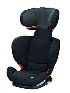 Bébé Confort RodiFix - Silla de coche, grupo 2/3, color negro