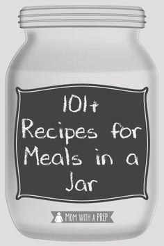 Meals in a Jar Recipes Meals in Jars are a ready way to have full meals, ready to go on your pantry shelf for quick meals, emergencies or even as Christmas gifts! Get started on building your pantry with these easy to make recipes. Meals In A Jar, Full Meals, Freezer Meals, Quick Meals, Mason Jar Mixes, Mason Jars, Canning Jars, Canning 101, Pressure Canning